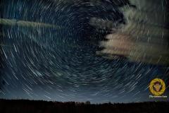 Nachts im Wildpark Schorfheide