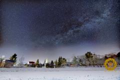 Groß Schönebeck in einer Winternacht